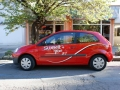 Реклама върху лек автомобил - Бургас
