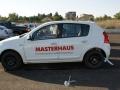 Стикери върху автомобил на Мастерхаус - Бургас
