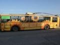 Реклама върху автобус - Бургас