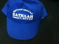 Рекрамен надпис върху шапка