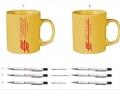 Реклама върху чаши и химикалки